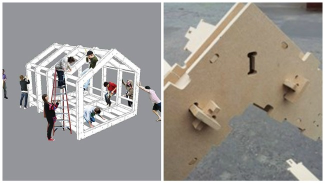 First jigsaw 'WikiHouse' in UK to be built in Fountainbridge
