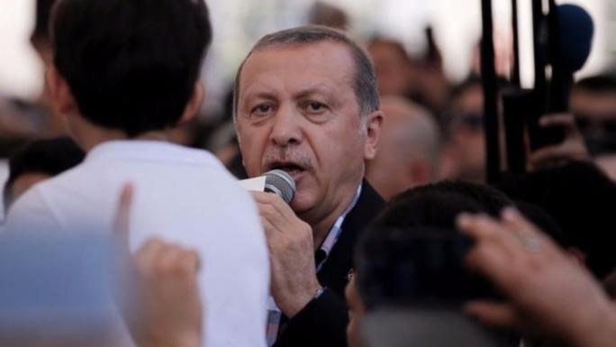 President Recep Tayyip Erdogan has hinted at imposing the death penalty on coup plotters.