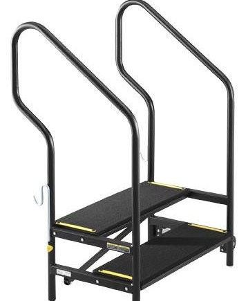 Sico Portable Stage Stairs Bounce House Party Rentals | Portable Stairs With Handrail | Chair | Plastic Portable | Camper | Wall Mounted | Ladder