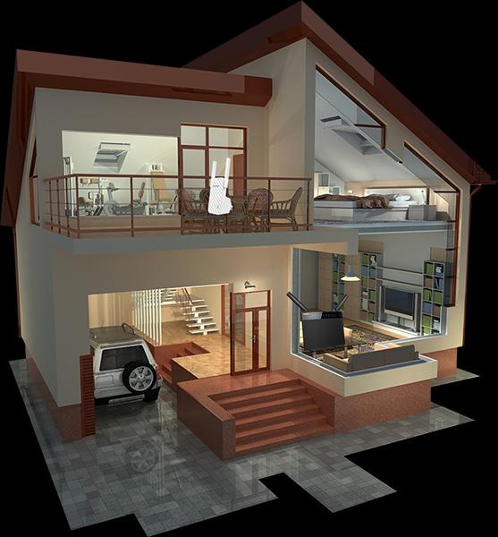A9 Coverage for Multi-floor villa