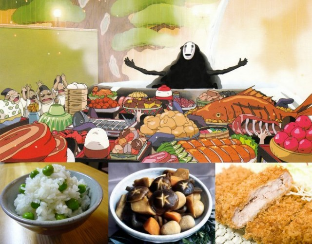 Spirited Away: It's for the Foodies