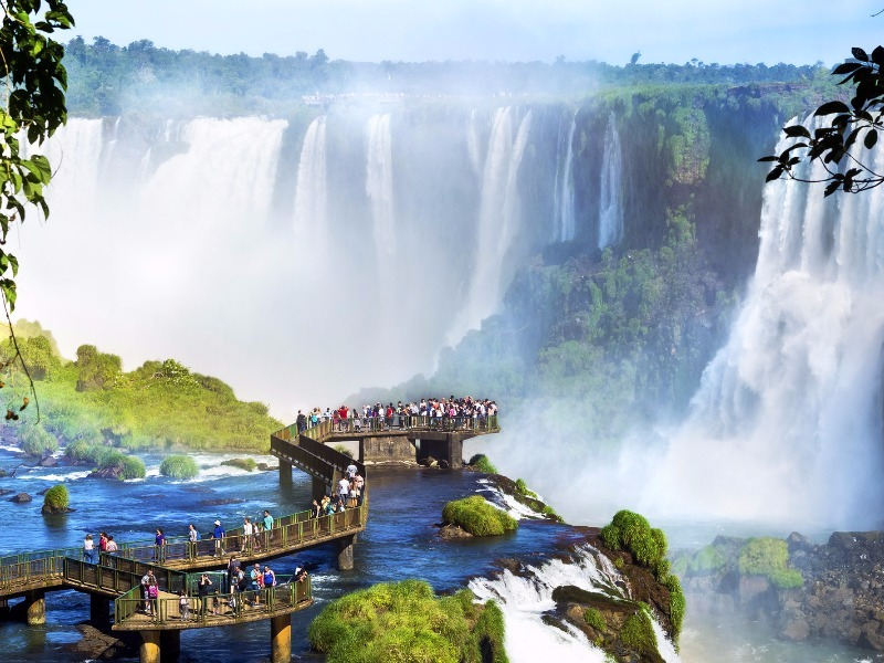 10 of the Best Places to Visit Argentina   TripsToDiscover Iguazu Falls Iguazu Falls