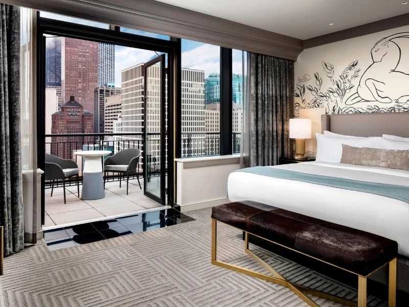 chicago hotels with epic city views