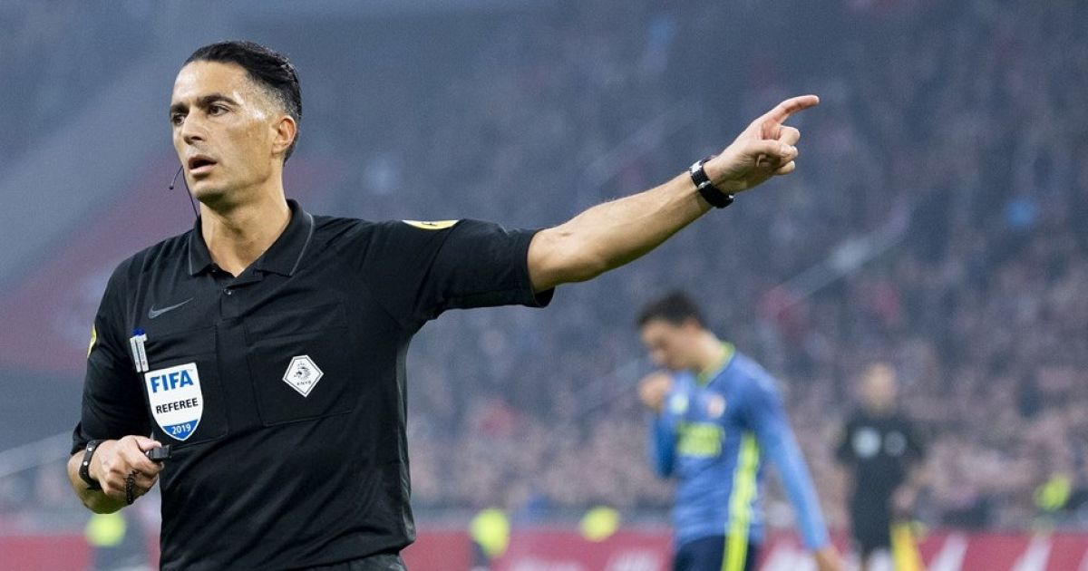 KNVB announces arbiters for Super Sunday: Gözübüyük receives title topper