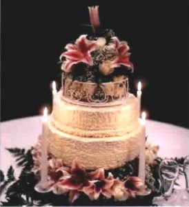 Elegant Wedding Cakes   Desserts by Janice