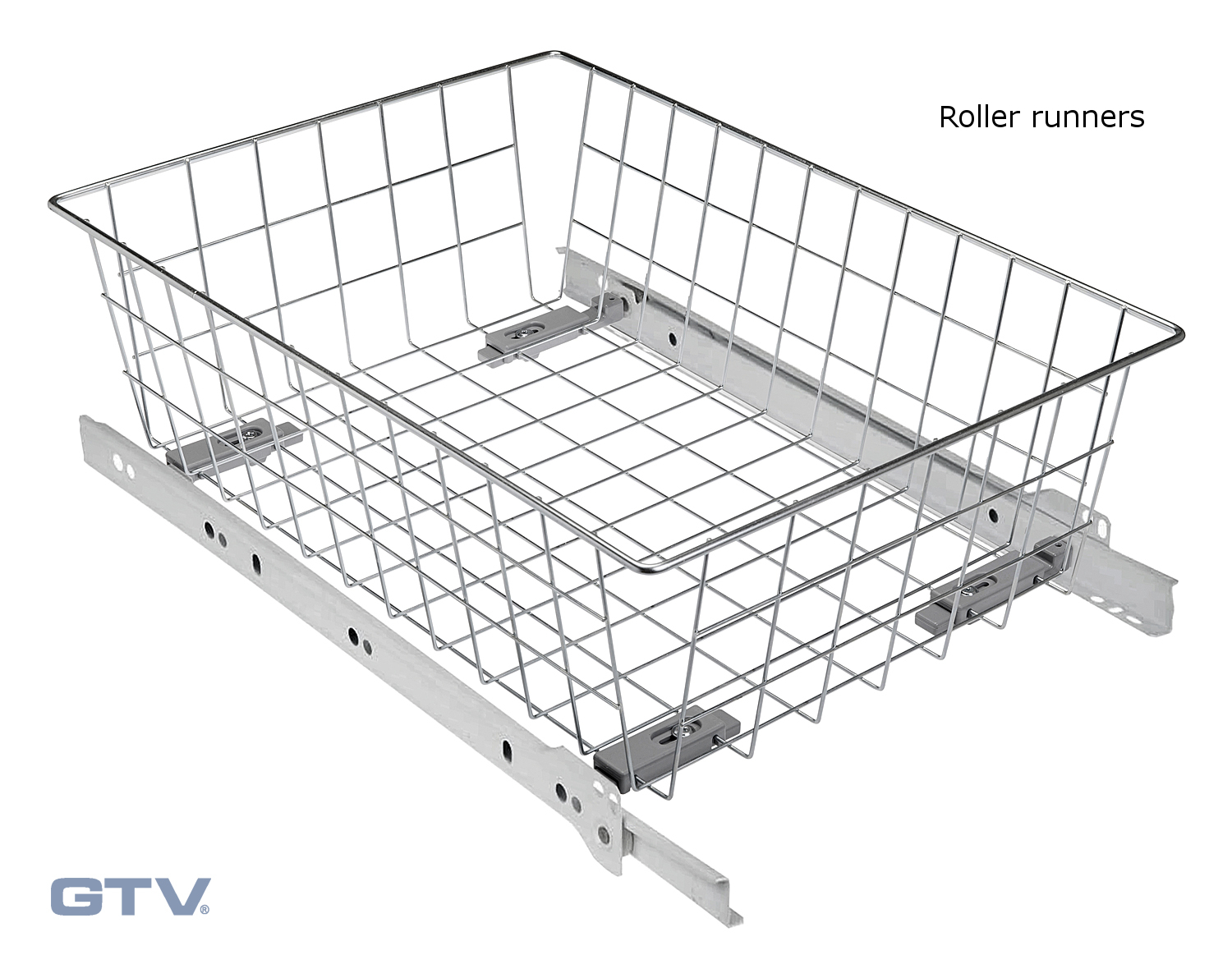 Pull Out Wire Basket Drawer Soft Close Full Extension