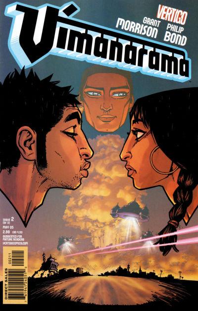 Cover for Vimanarama (DC, 2005 series) #2