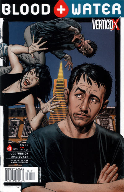 Cover for Blood and Water (DC, 2003 series) #1