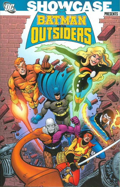 Cover for Showcase Presents: Batman and the Outsiders (DC, 2007 series) #1