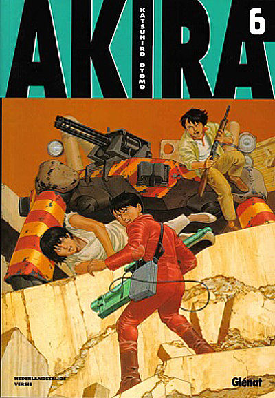 Cover for Akira (Glénat Benelux, 2002 series) #6
