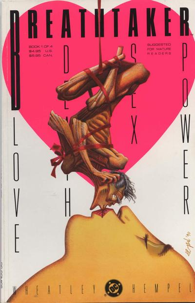 Cover for Breathtaker (DC, 1990 series) #1