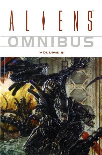 Cover for Aliens Omnibus (Dark Horse, 2007 series) #6