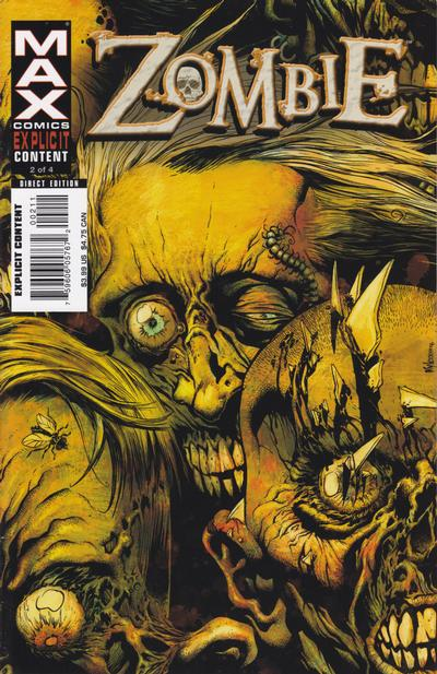Cover for Zombie (Marvel, 2006 series) #2