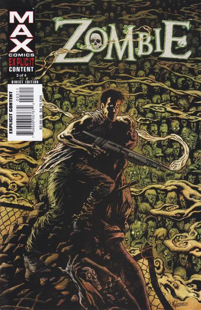 Cover for Zombie (Marvel, 2006 series) #3