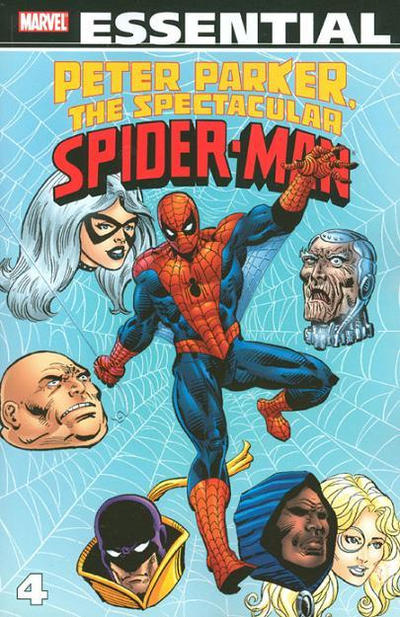 Cover for Essential Peter Parker, the Spectacular Spider-Man (Marvel, 2005 series) #4