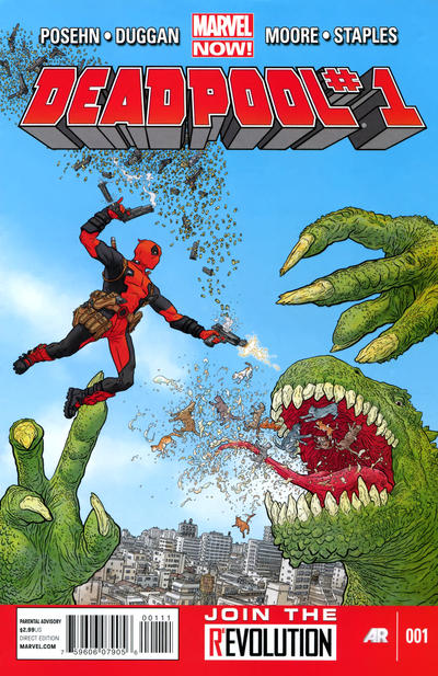 Cover for Deadpool (Marvel, 2013 series) #1