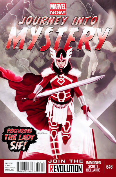 Cover for Journey into Mystery (Marvel, 2011 series) #646