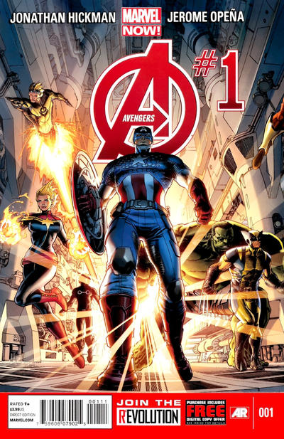 Cover for Avengers (Marvel, 2013 series) #1