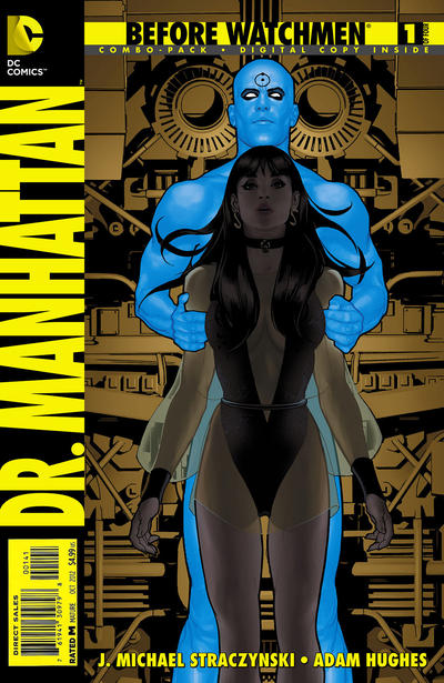 Cover for Before Watchmen: Dr. Manhattan (DC, 2012 series) #1