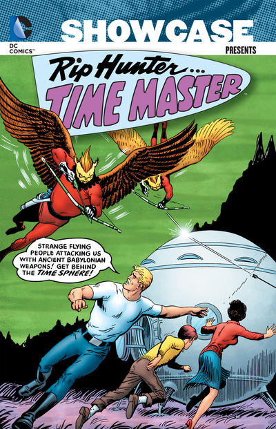Cover for Showcase Presents: Rip Hunter, Time Master (DC, 2012 series) #1