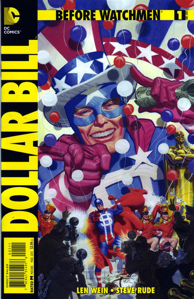 Cover for Before Watchmen: Dollar Bill (DC, 2013 series) #1