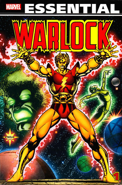 Cover for Essential Warlock (Marvel, 2012 series) #1