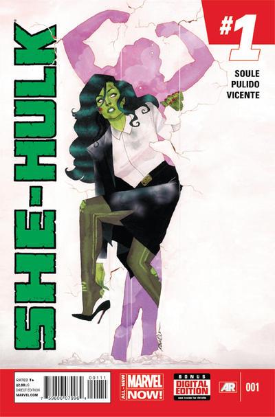 Cover for She-Hulk (Marvel, 2014 series) #1