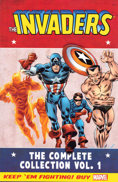 Cover for Invaders Classic: The Complete Collection (Marvel, 2014 series) #1