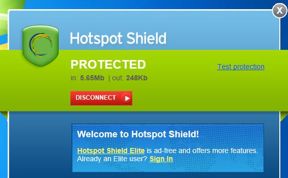 تحميل هوت سبوت مجانا Hotspot Shield Free