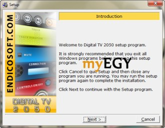 تثبيت digital tv 1.