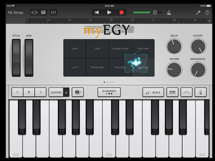 تحميل برنامج تحميل نغمات للايفون بدون كمبيوتر مجاناً-garageband-iphone-free
