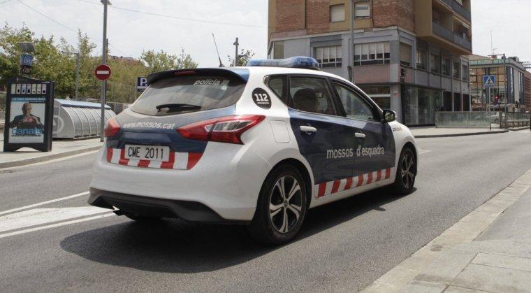 Imatge recurs d'un cotxe dels Mossos d'Esquadra
