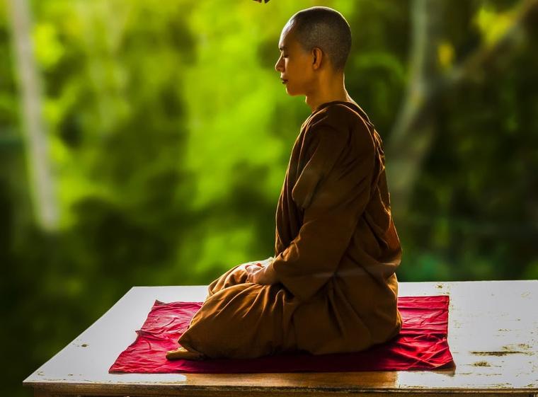 La meditació és una de les eines del budisme