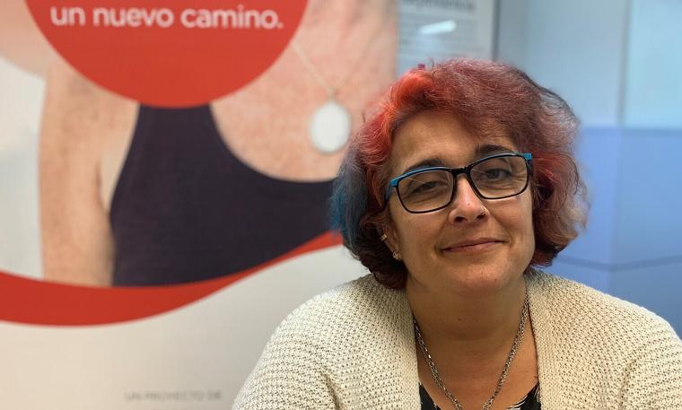 Tina Rodriguez, beneficiada pel programa 'Gira Mujeres'