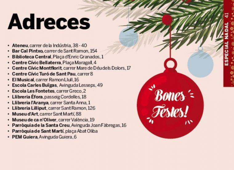 programa activitats Nadal Cerdanyola