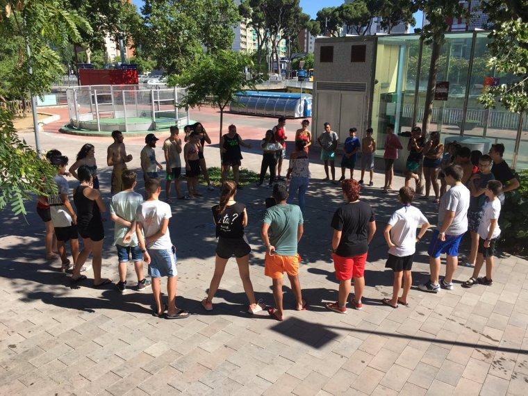 Imatge d'una activitats del Casal de Joves Altimira