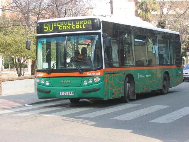 Imatge del servei de bus SU