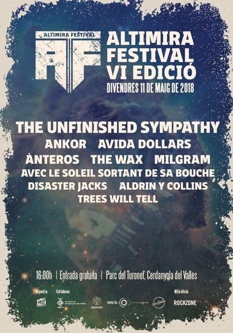 Cartell del 6è Altimira Fest