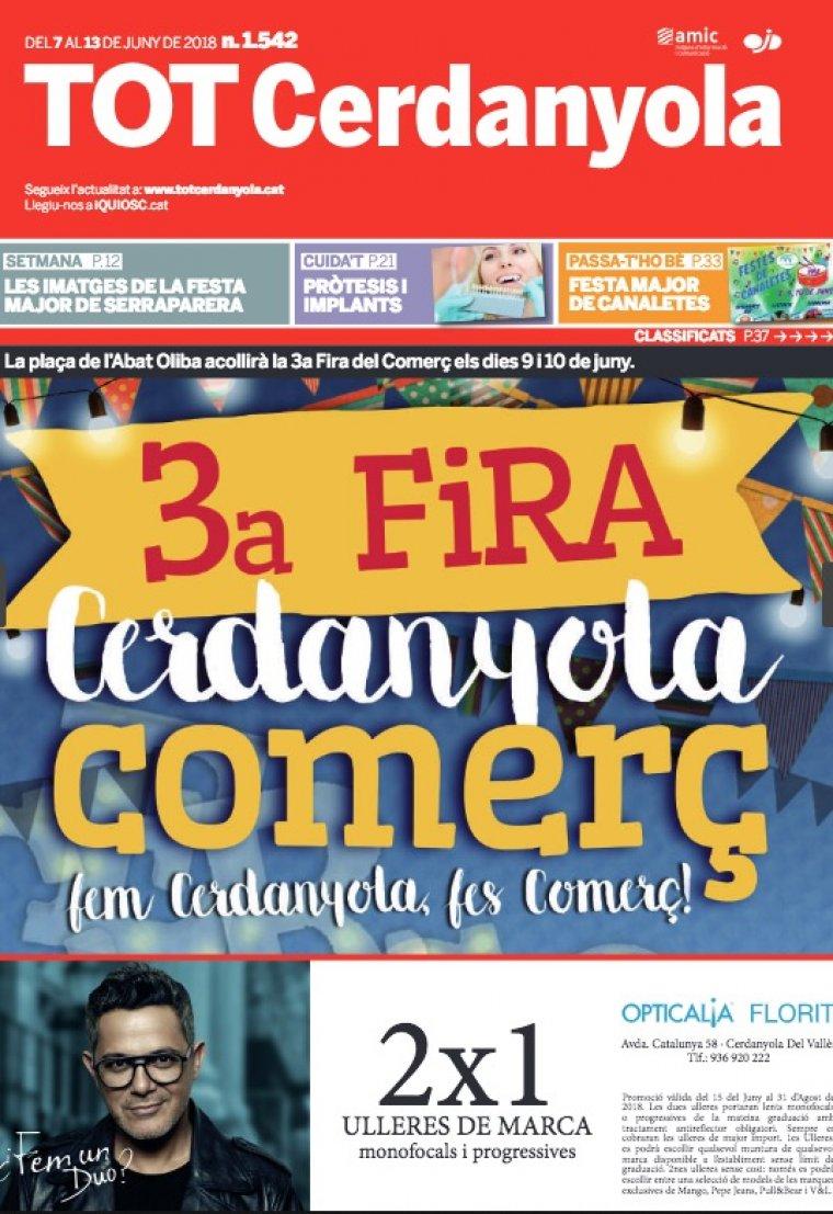 La portada del TOT 1542
