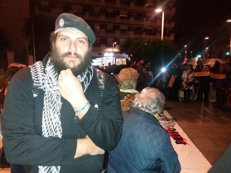 Jandi Velasco va ser un dels 14 detinguts el 23 de febrer davant el TSJC