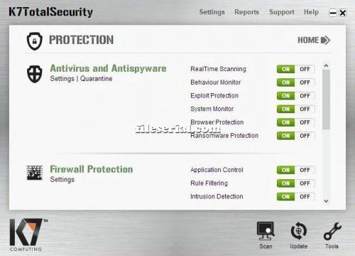 K7 Total Security 16.0.0225 Crack + Serial Key Free Download