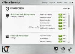 K7 Total Security 16.0.0290 Crack + Serial Key (2020) Free Download