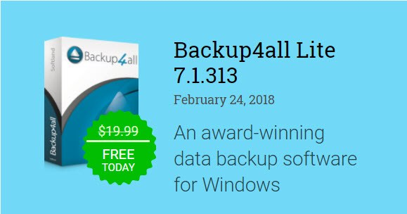 Backup4all Professional 7.3.373