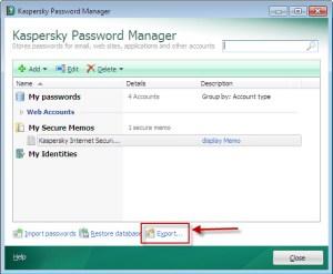 Kaspersky Password Manager 9.0.1.447
