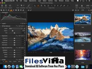 Capture One 21 for Mac Free Download