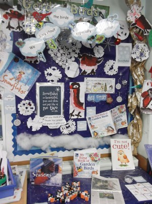 Mrs Stubbs - We have been thinking about caring for winter birds. We have written thank-you prayers.