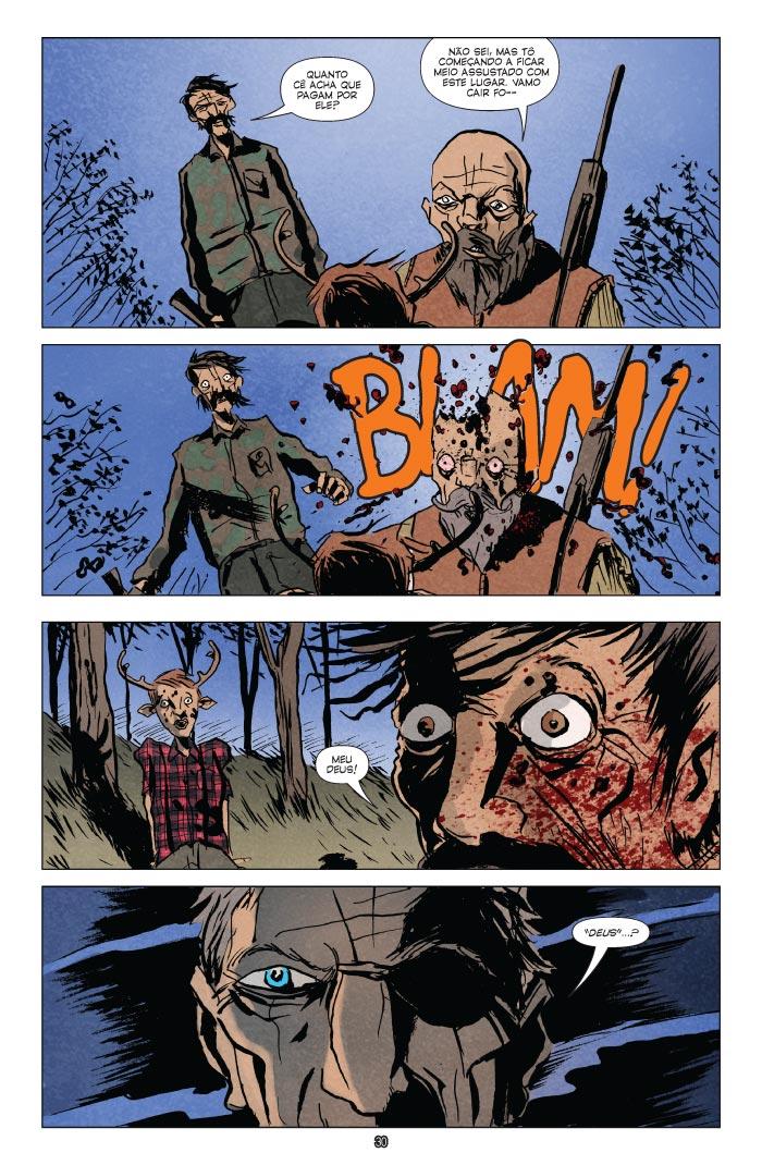 Sweet Tooth Depois do Apocalipse Vol. 1 - Saindo da Mata página 2