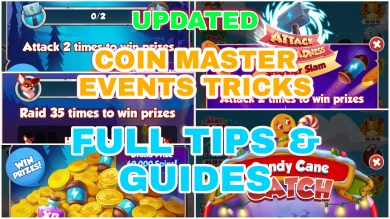 Coin Master Event Tricks Tips and Guides