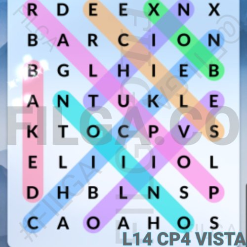 Wordscapes Search Level 14