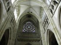 L'EPINE: rozeta fasady zachodniej / rose of the west facade